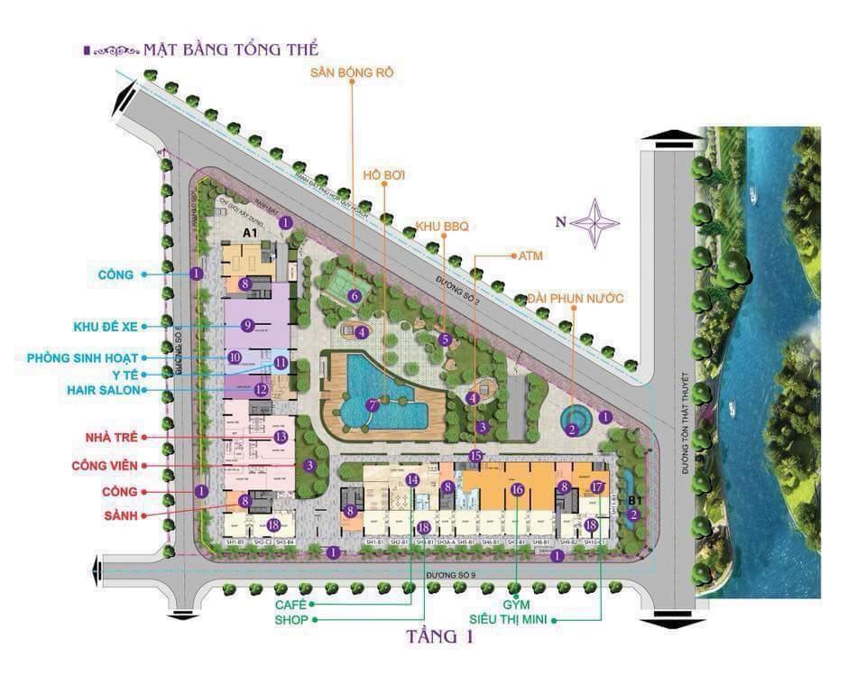 Bán căn hộ Charmington iris Quận 4 . 72m giá 3,5 tỷ