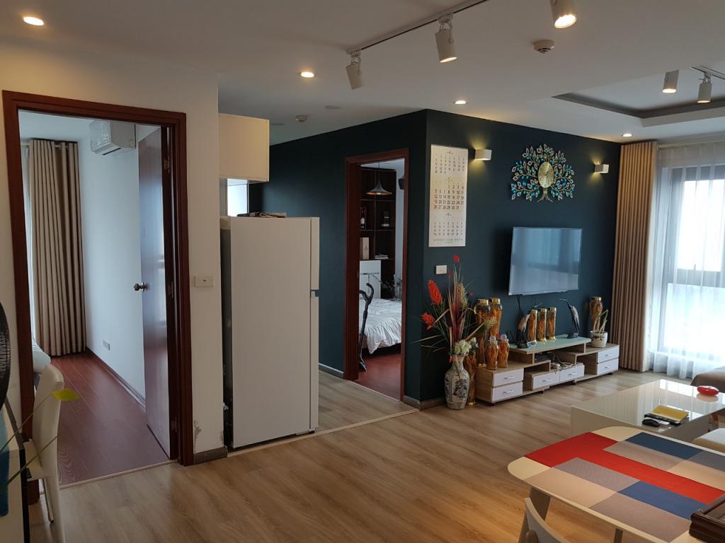 Cho thuê chung cư HOÀNG NGÂN PLAZA - 125 HOÀNG NGÂN 2PN,2WC,FULL ĐỒ