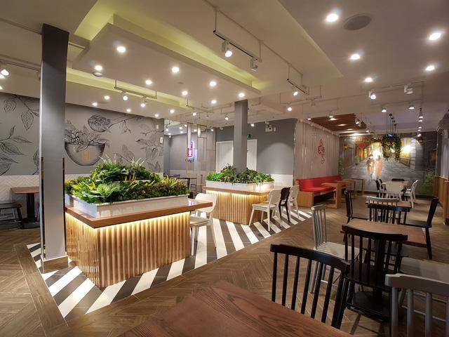 Thiết kế thi công nội thất quán trà sữa Gong cha Thủ Đức !