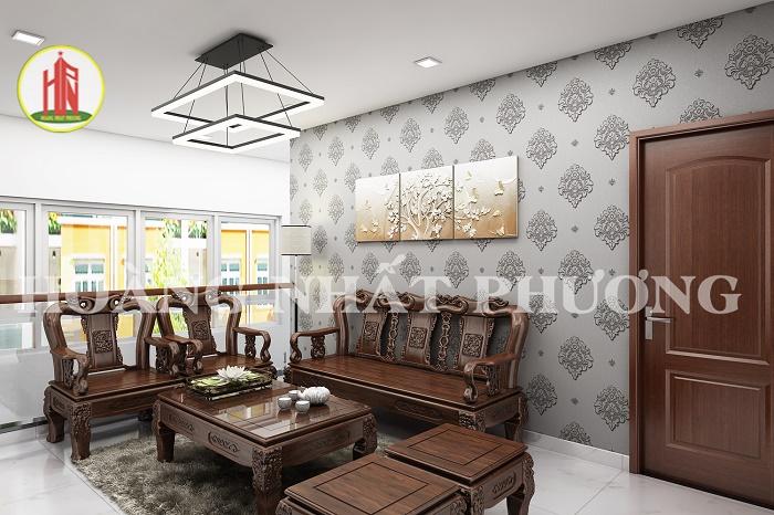 Thiết kế nội thất Nhà phố 90/16 Nguyễn Thị Nhỏ, phường 9, quận Tân Bình, HCM